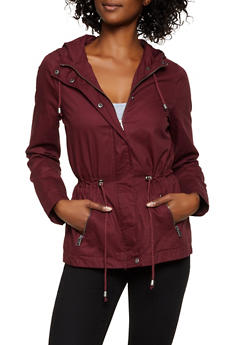 Drawstring Anorak Jacket - 3086051067253