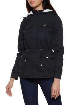 Sherpa Lined Anorak Jacket - 3086051067803
