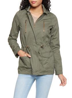 Hooded Anorak Jacket - 3086051069620