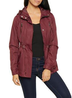 Light Weight Hooded Anorak Jacket - 3086054260571