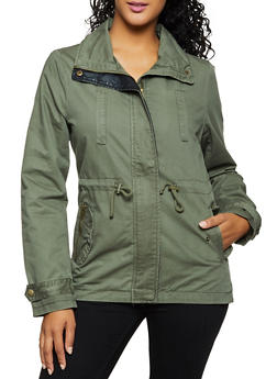 Solid Twill Anorak Jacket | 3086054261630 - 3086054261630