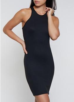 Solid Racerback Tank Dress | 3094038349813 - 3094038349813