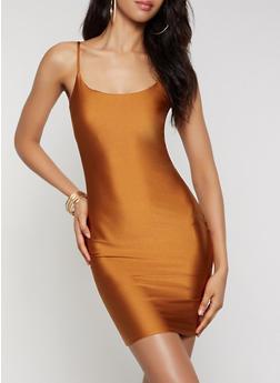 Spandex Cami Dress - 3094069394351
