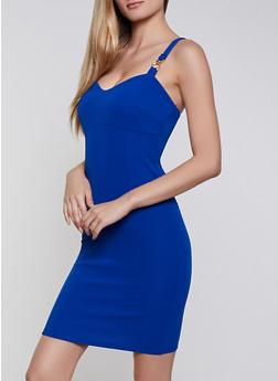 Textured Knit Midi Bodycon Dress - 3096075172001