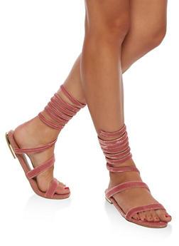 Wrap Around Flat Sandal - 3110004062874