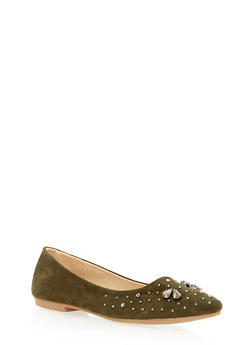 Pointed Skimmer Flats with Studs - 3110073112583