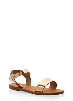 Ankle Strap Sandals - ROSE - 3110074453359