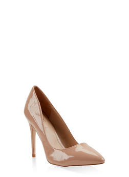Pointed Toe Stilettos - NUDE - 3111004064424