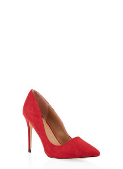 Pointed Toe Stilettos - RED - 3111004064426