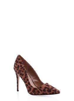 Pointed Toe Stilettos - MULTI COLOR - 3111004064426