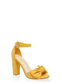 Bow High Heel Sandals - 3111004066272