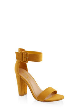 Buckle Ankle Strap High Heel Sandals | 3111004066273 - 3111004066273