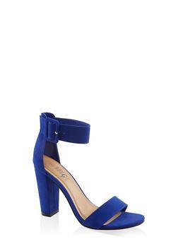 Buckle Ankle Strap High Heel Sandals | 3111004066273 - 3111004066273