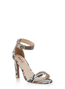 Ankle Strap High Heel Sandals | 3111029914877 - 3111029914877