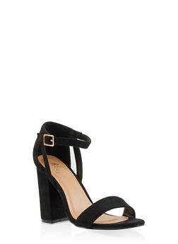Block High Heel Sandals - 3111073541050