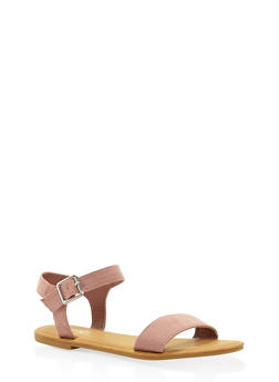 Ankle Strap Sandals - BLUSH - 3112004062541