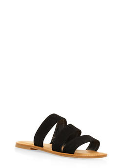 Triple Band Slide Sandals - 3112004062542