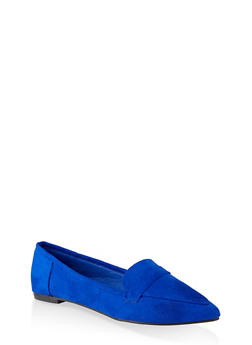 Pointed Toe Flats | 3112004062566 - BLUE - 3112004062566