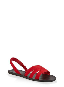 Triple Band Slingback Sandals - 3112004066670