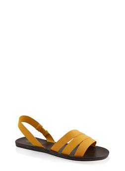 Triple Band Slingback Sandals - 3112004066670