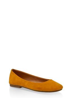 Square Toe Ballerina Flats - 3112004066852
