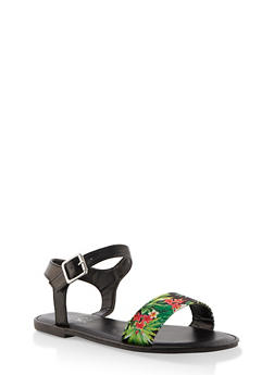 Single Band Ankle Strap Sandals | 3112004067483 - 3112004067483