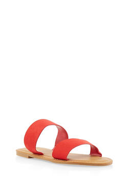 Two Band Slide Sandals | 3112004068345 - 3112004068345