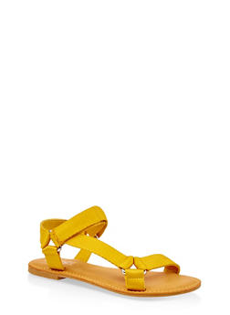 Tape Strap Sandals - 3112004068486