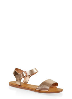 Single Band Ankle Strap Sandals | 3112004068725 - 3112004068725