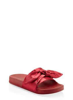 Tie Bow Slides - 3112073117268