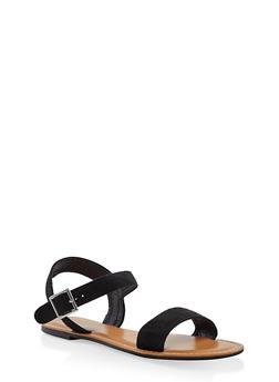 Buckle Strap Sandals - 3112073540052