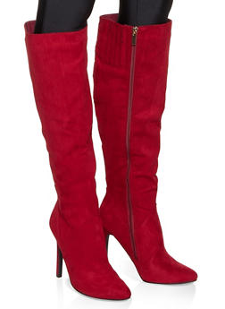 Tall Stiletto Heel Boots - 3113014067541