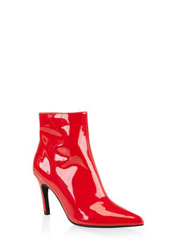 Pointed Toe Mid Heel Booties | 3113014068428 - 3113014068428