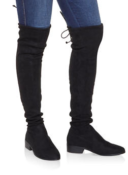 Over the Knee Pull On Boots - 3116014068584