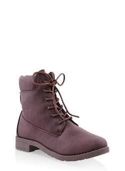 Lug Sole Work Boots - 3116062728467