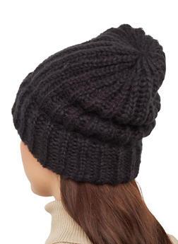 Slouchy Knit Beanie - 3119067444909