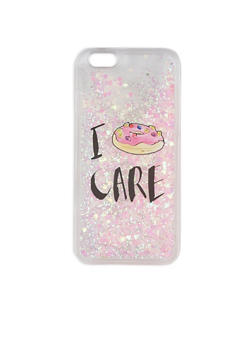 Donut Graphic Clear iPhone 6 Case - 3120018430005