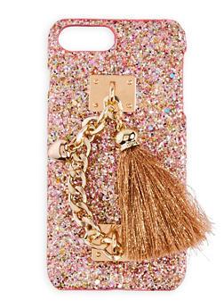 Glitter Tassel iPhone Case - 3120066412498
