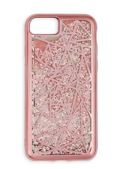 Geometric Glitter iPhone Case - 3120066414130