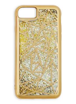 Geometric Glitter iPhone Case - 3120066414130