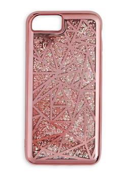 Metallic Geometric Waterfall iPhone Case - 3120066414137
