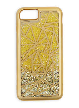 Metallic Geometric Waterfall iPhone Case - 3120066414137
