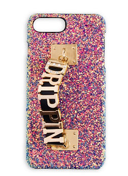 Drippin Rhinestone Glitter iPhone Case - 3120066414579