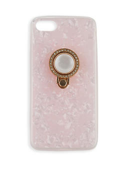Rhinestone Ring Phone Case - 3120066416004