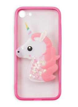 Glitter Unicorn iPhone Case - 3120066418020