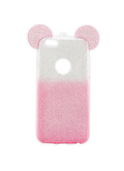 Glitter Mouse Ears iPhone Case - 3120067447021