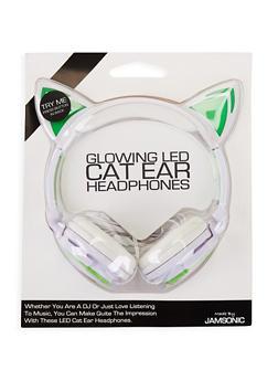 Glowing LED Cat Ear Headphones - 3120070465963