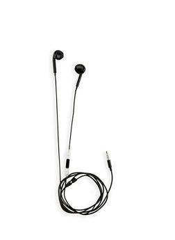 Plastic Earbuds - 3120072760213