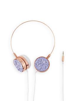Druzy Metallic Headphones - 3120075124480