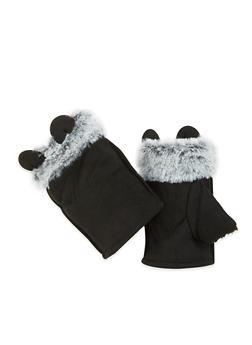 Animal Ear Fingerless Gloves - 3121067442800
